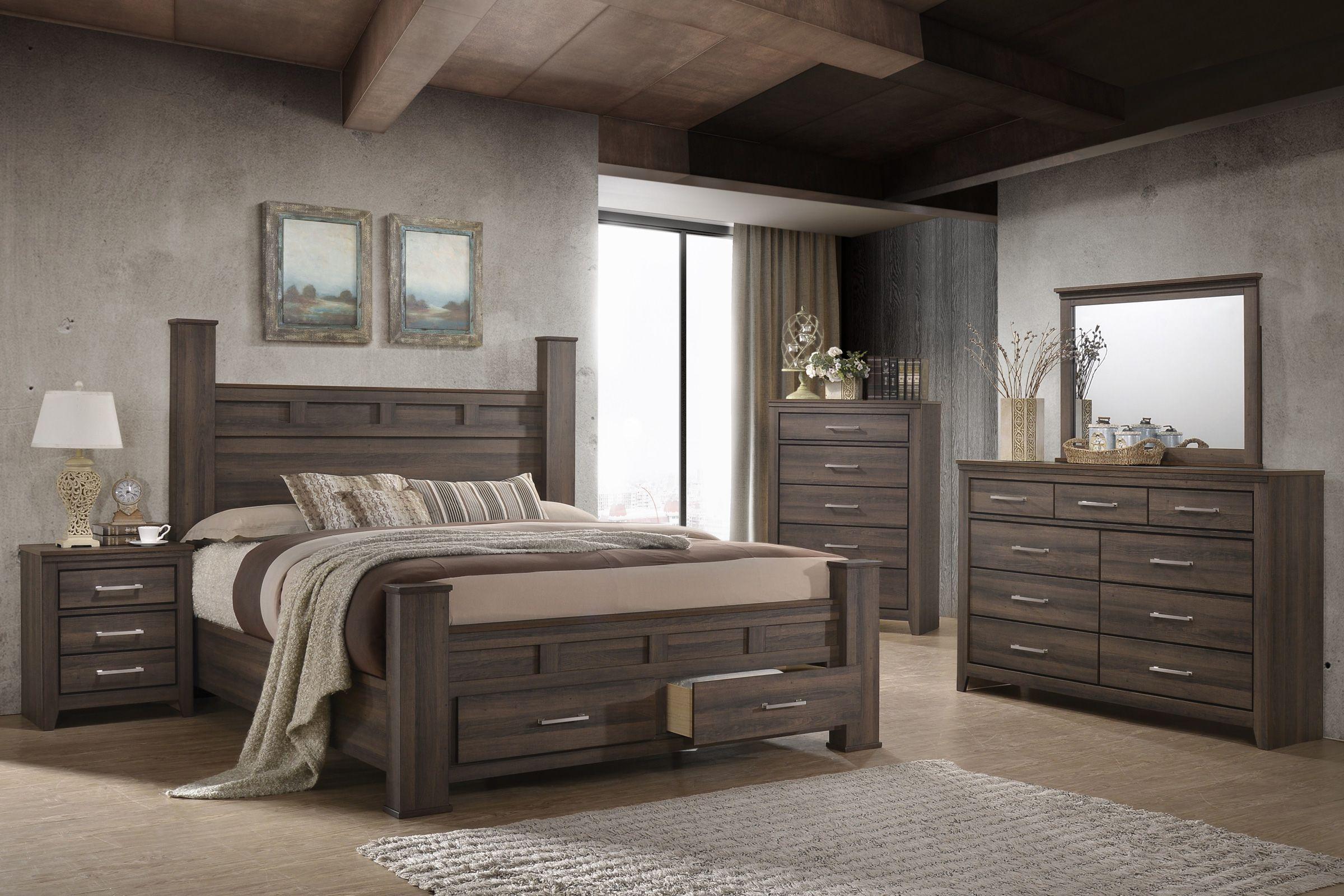 Danville 5-Piece Queen Bedroom Set at Gardner-White