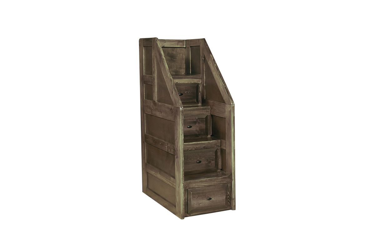 Laguna Grey Storage Staircase from Gardner-White Furniture