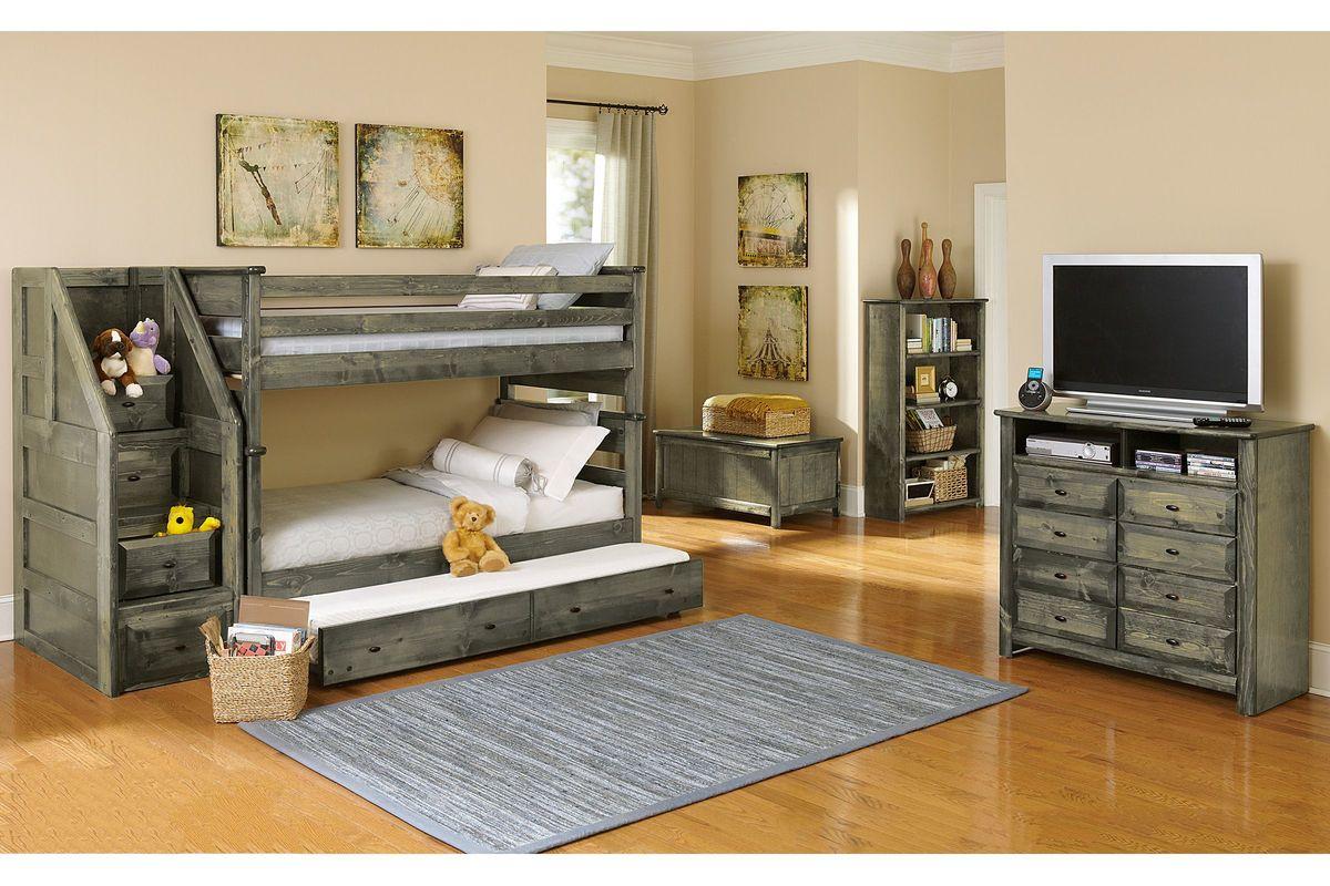 Laguna Grey Mattress Trundle from Gardner-White Furniture