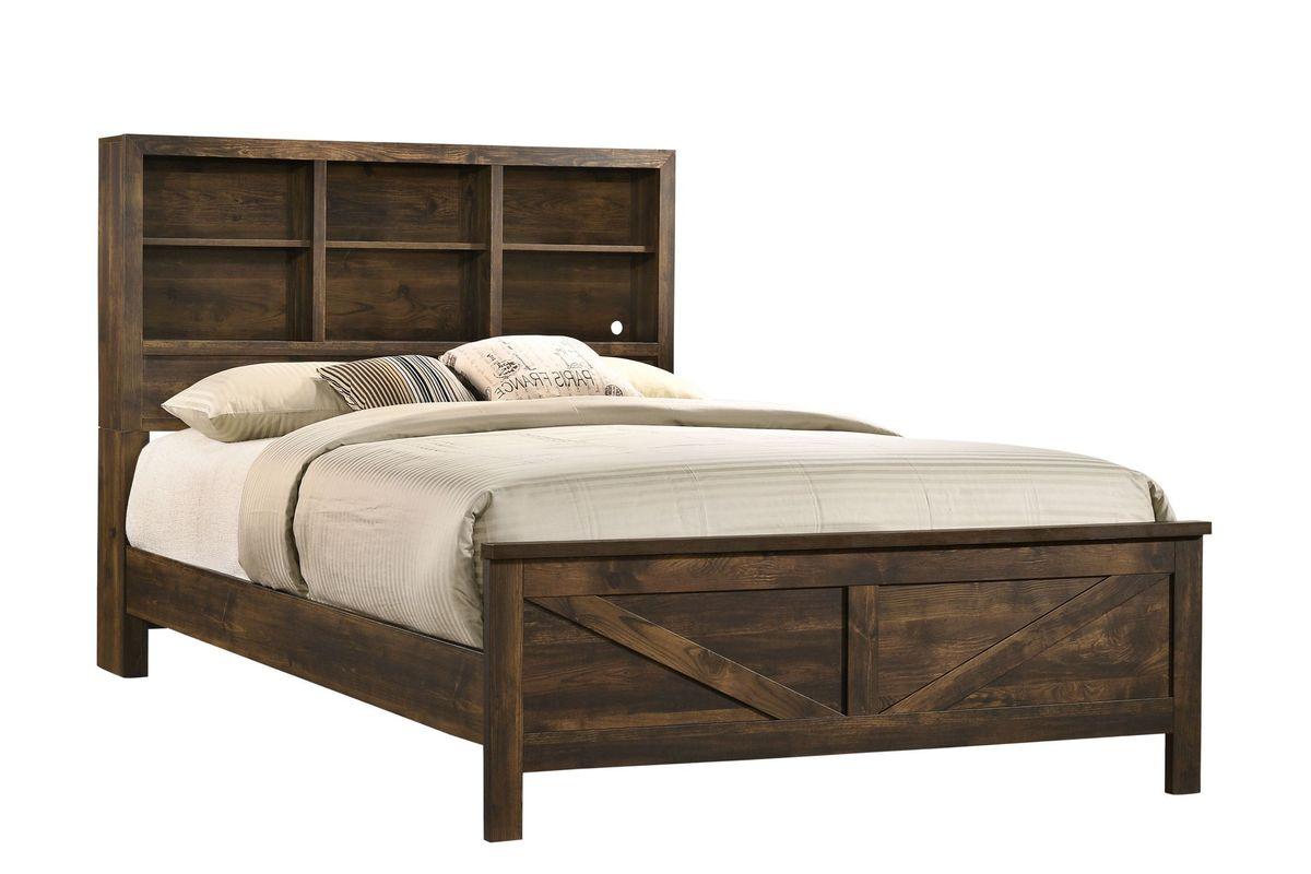 Hayfield Queen Storage Bed from Gardner-White Furniture