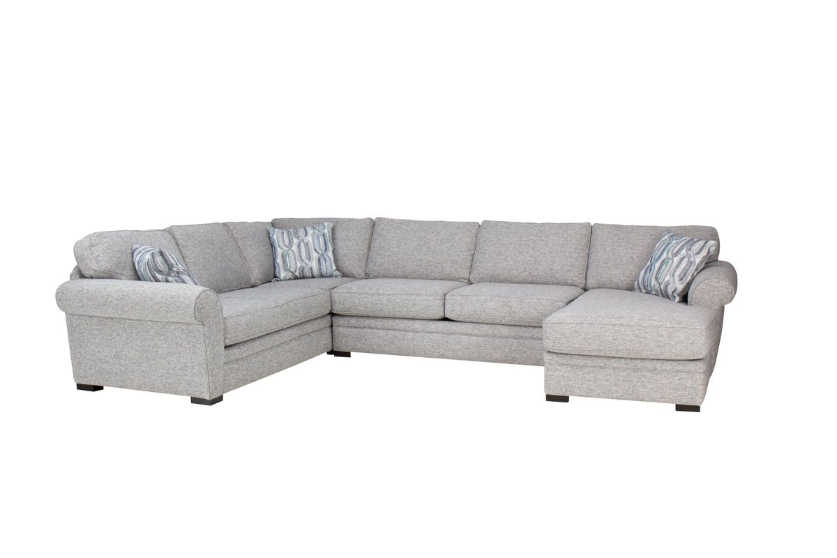 Whitney Sectional with Chaise on the Right by Jonathan Louis from Gardner-White Furniture