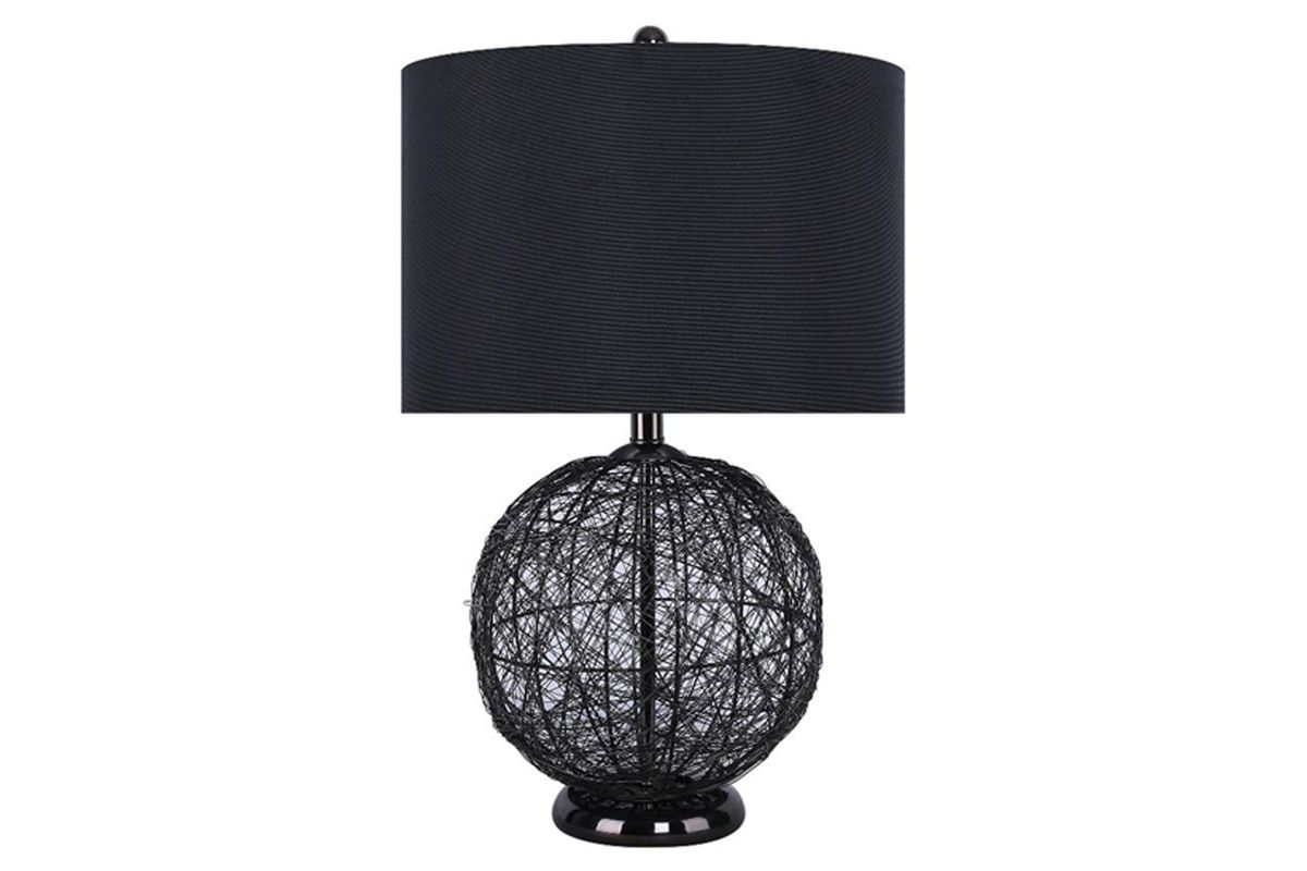 Gunmetal Wire Table Lamp from Gardner-White Furniture