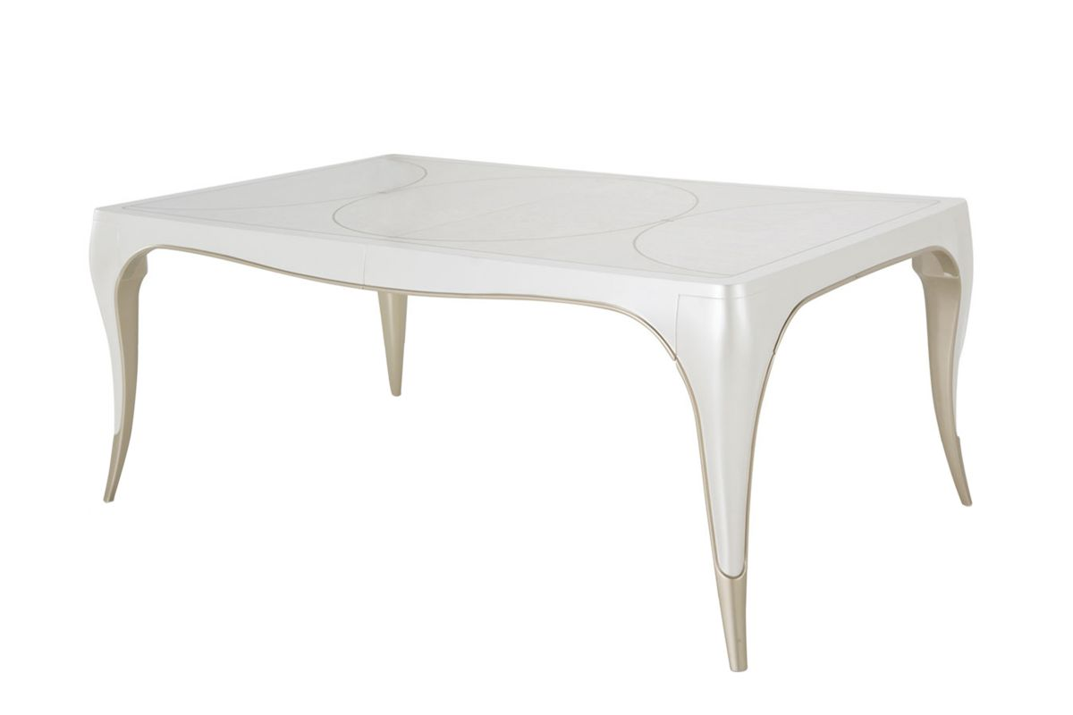 London Dining Table by Michael Amini x Jane Seymour Living from Gardner-White Furniture