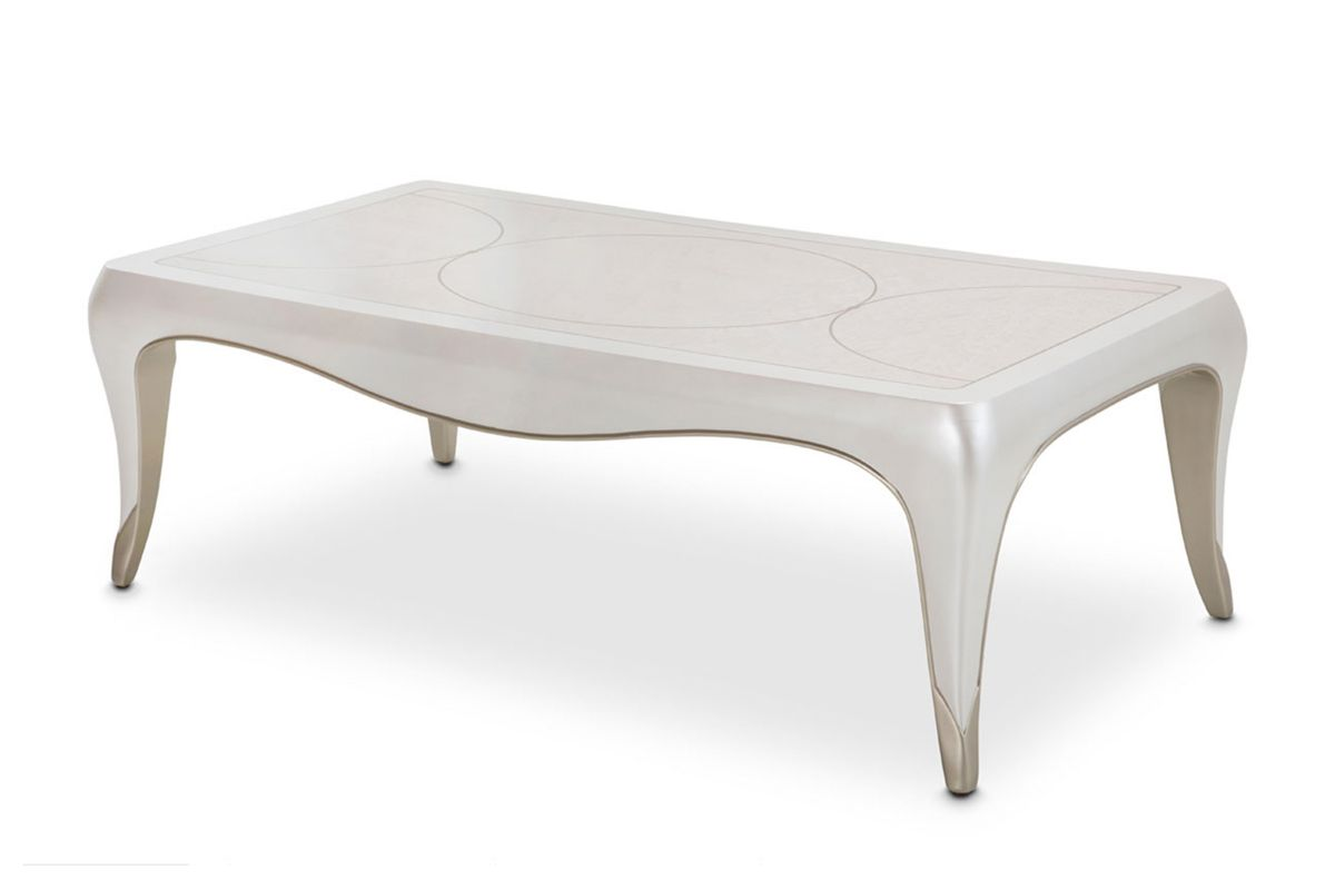 London Cocktail Table by Michael Amini x Jane Seymour Living from Gardner-White Furniture