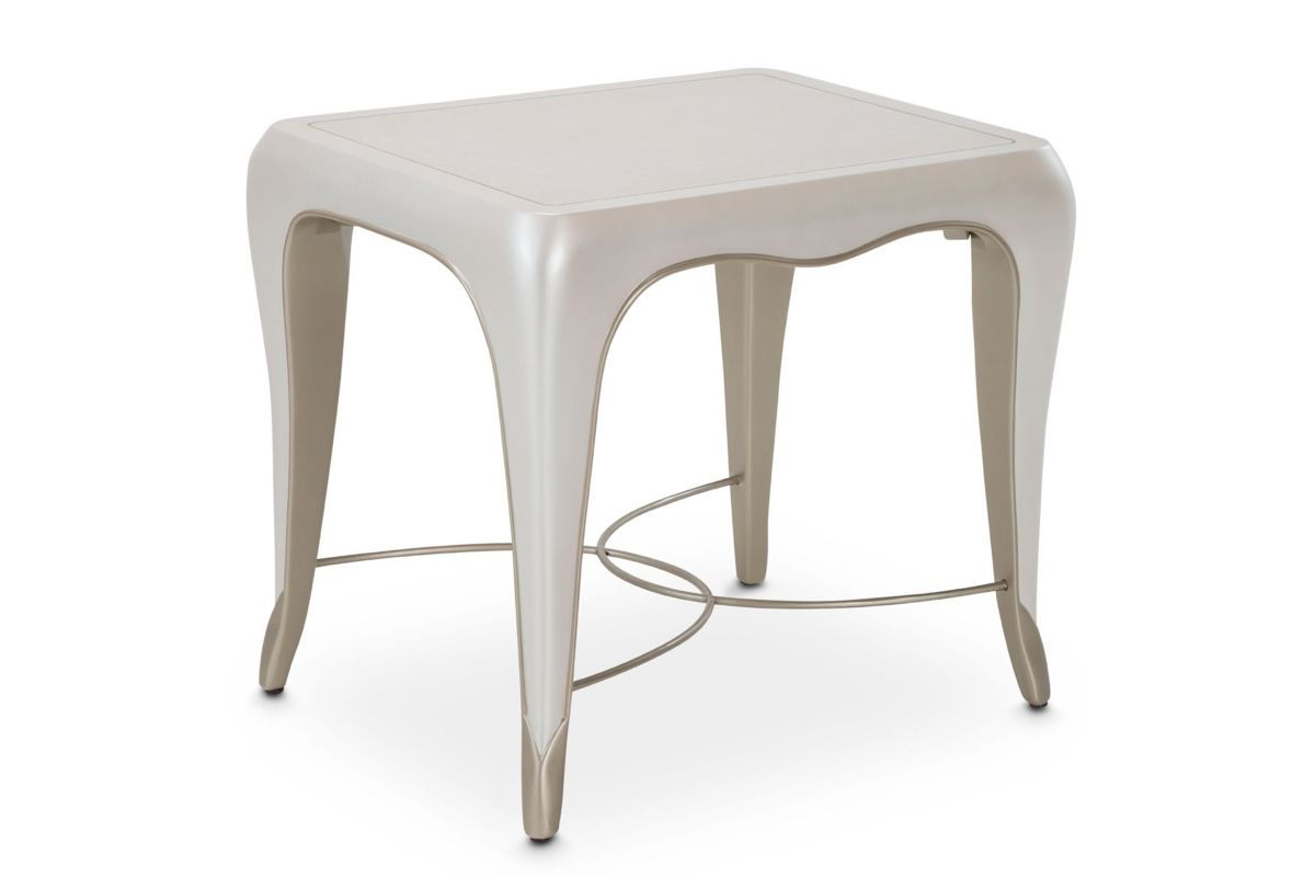 London End Table by Michael Amini x Jane Seymour Living from Gardner-White Furniture