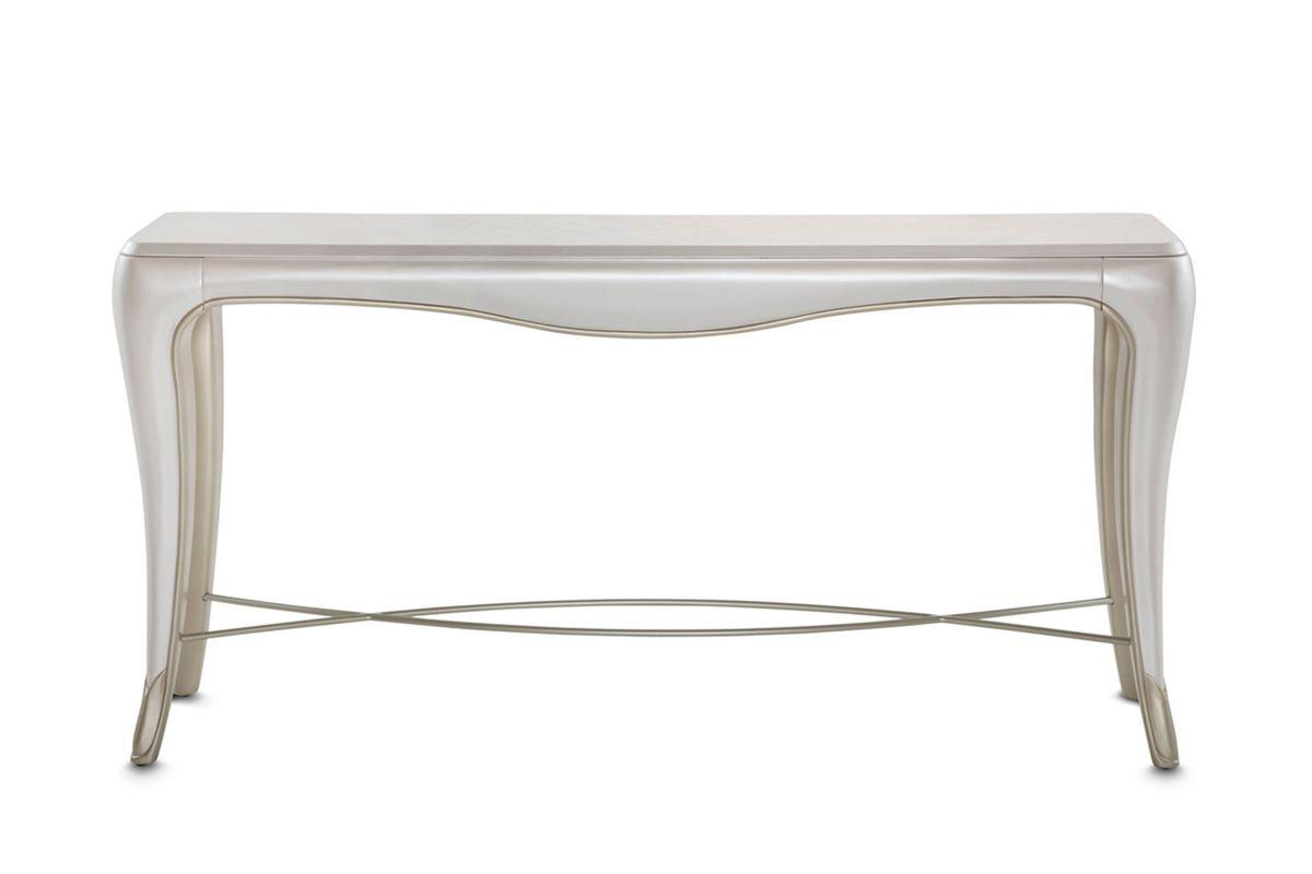 London Sofa Table by Michael Amini x Jane Seymour Living from Gardner-White Furniture