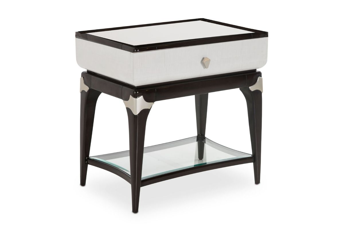 Paris End Table by Michael Amini x Jane Seymour Living from Gardner-White Furniture