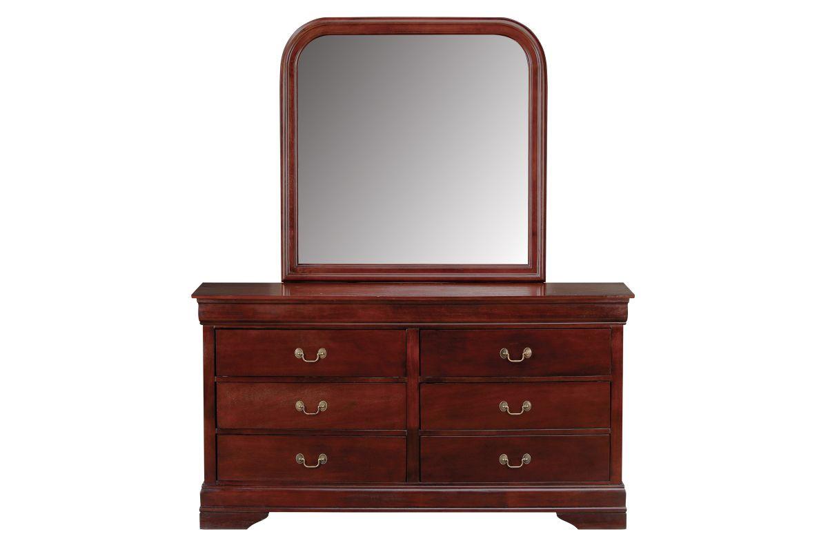 Louis Dresser + Mirror from Gardner-White Furniture