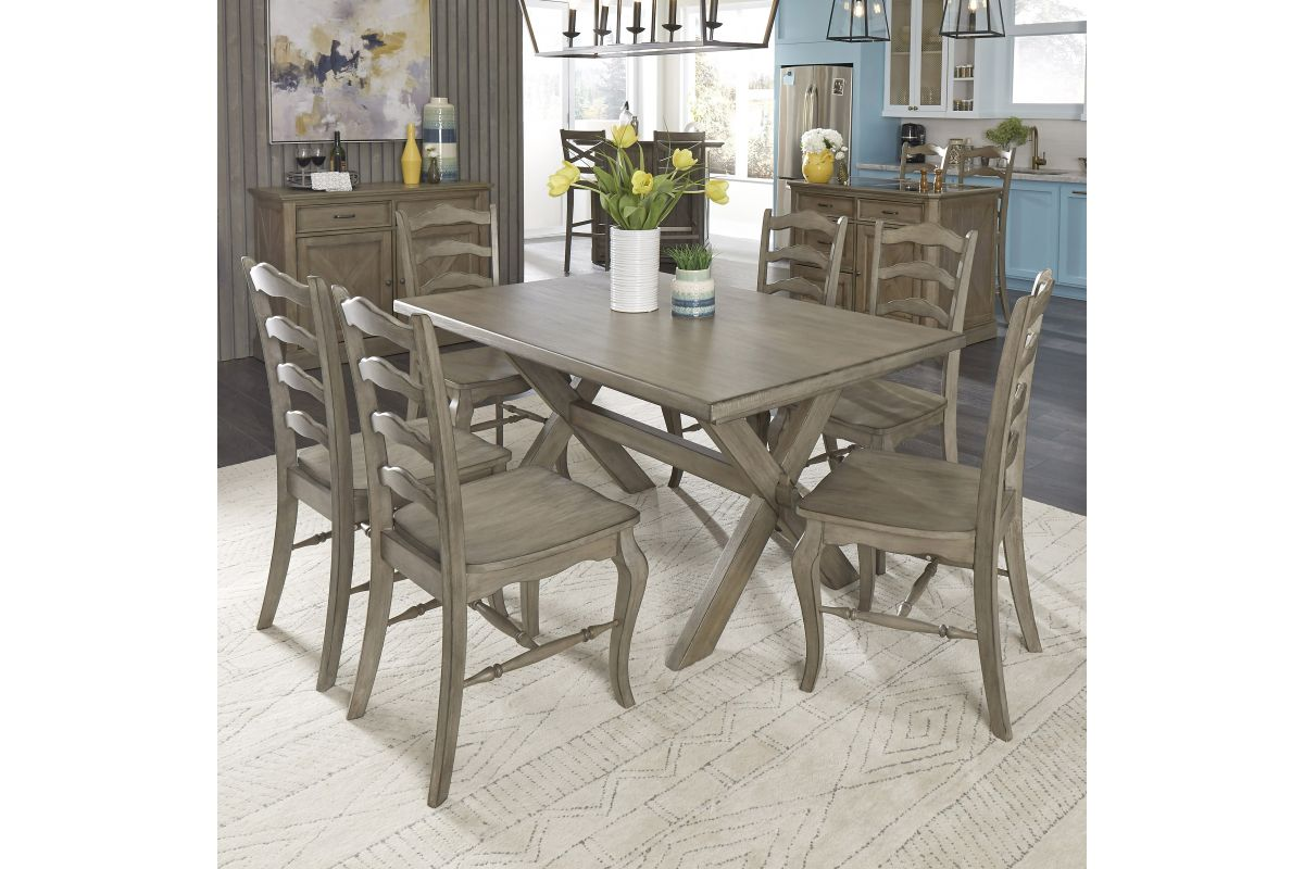 Walker 7 Piece Dining Set by homestyles from Gardner-White Furniture