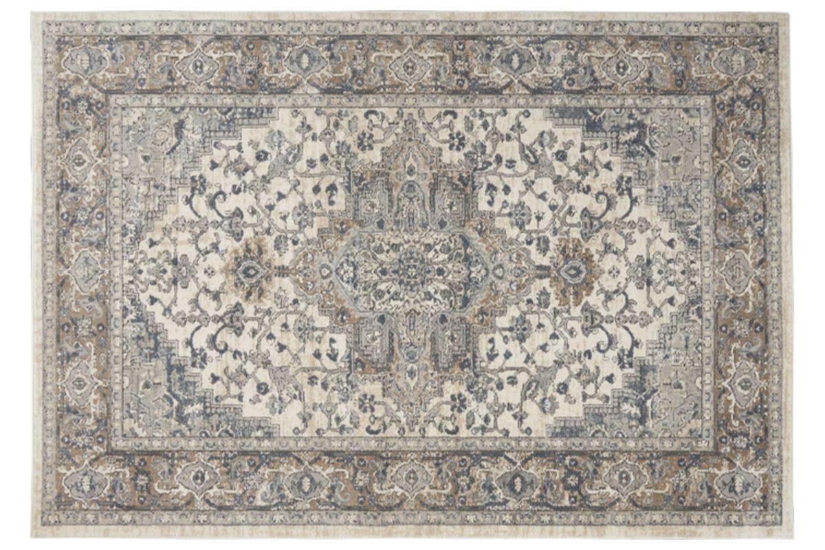 Ivory/Grey 5x7 Area Rug from Gardner-White Furniture