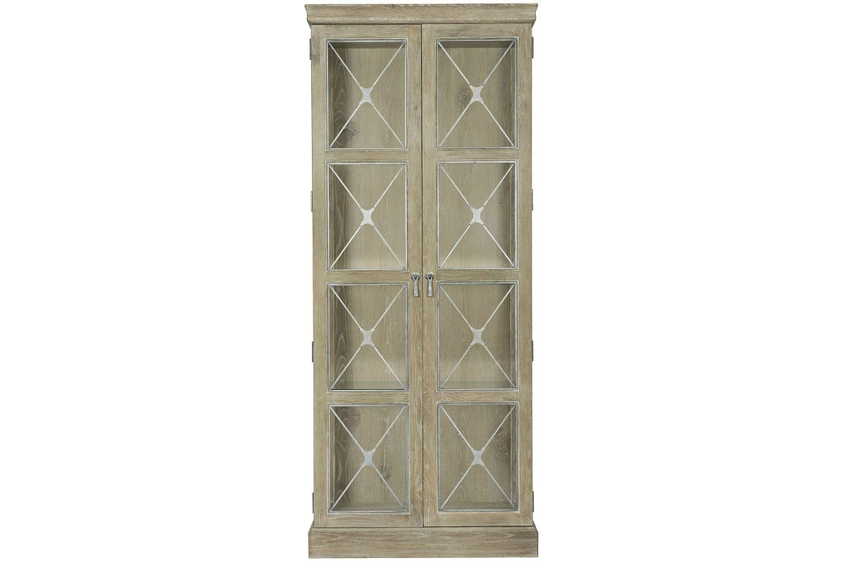 Rustic Patina Curio Cabinet from Gardner-White Furniture