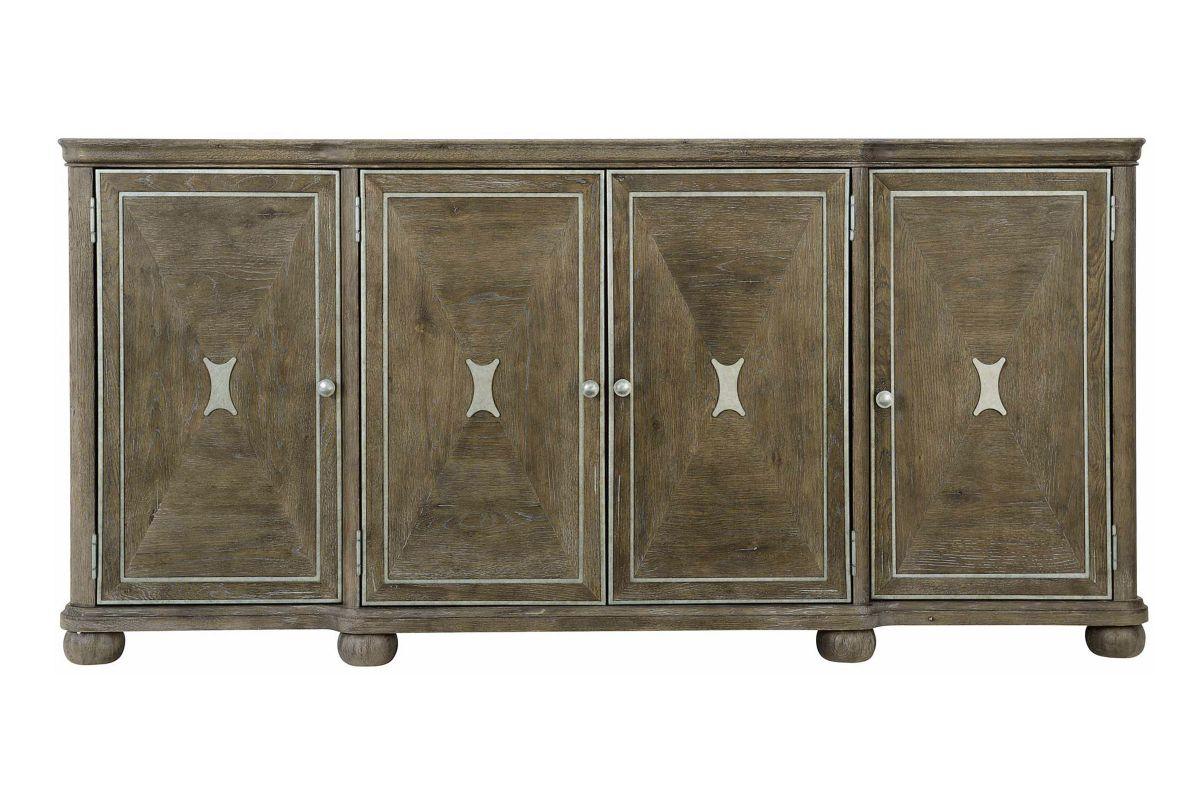 Rustic Patina 4 Door Buffet by Bernhardt from Gardner-White Furniture