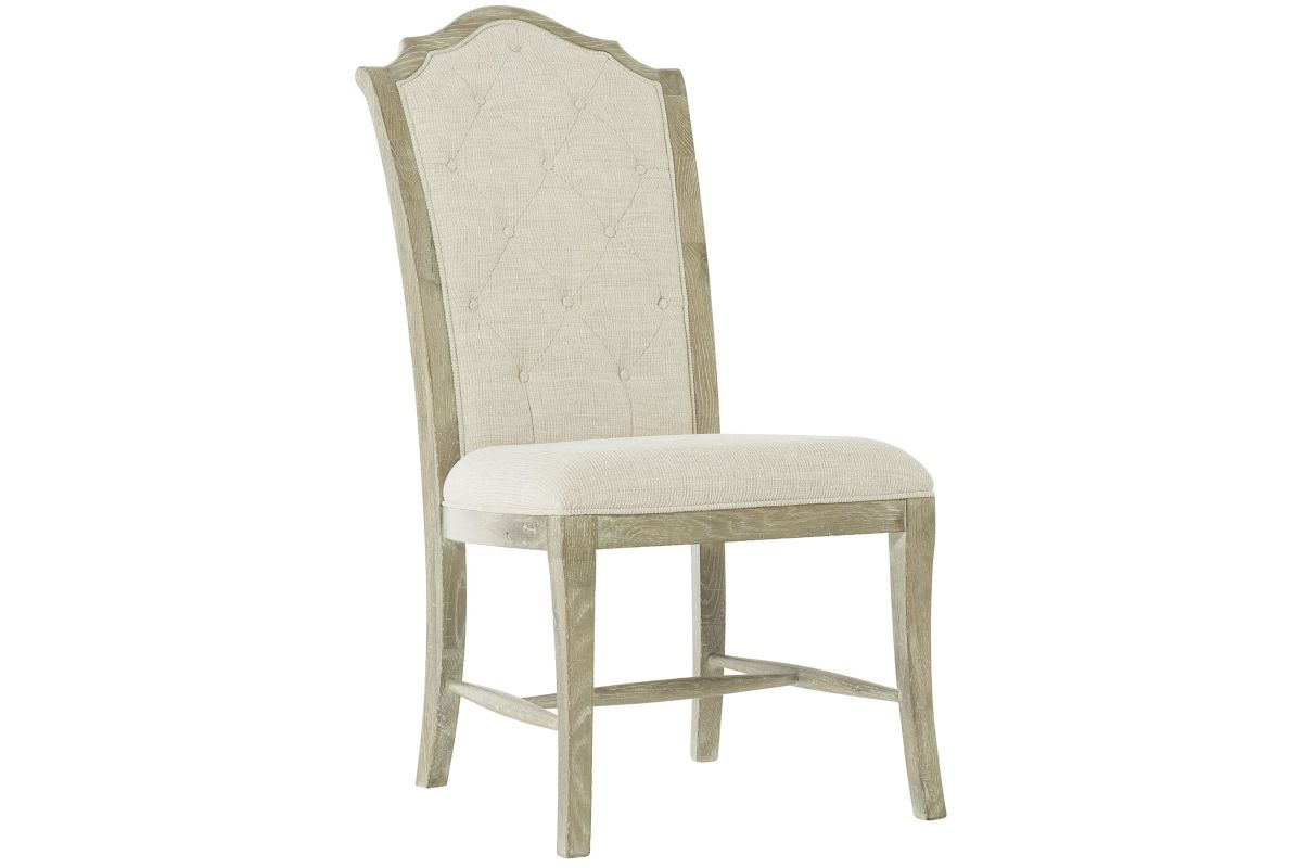 Rustic Patina Upholstered Side Chair by Bernhardt from Gardner-White Furniture