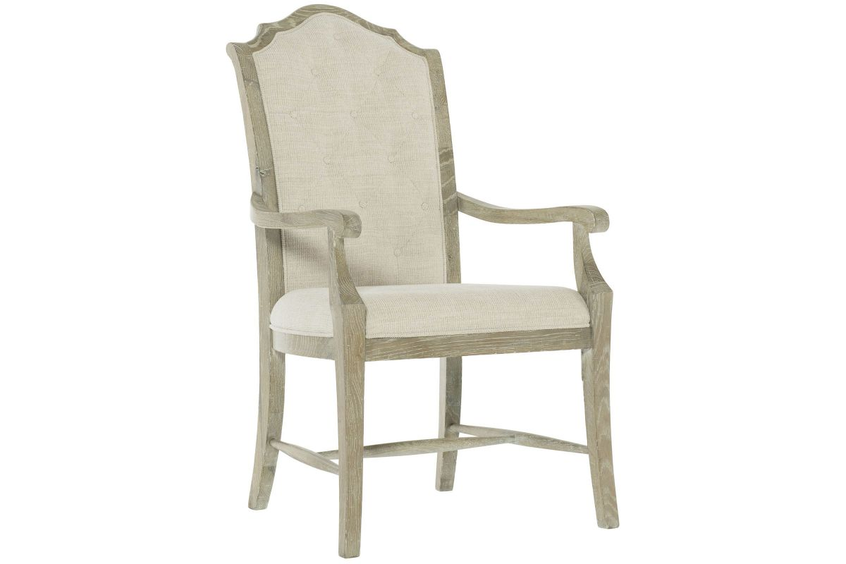 Rustic Patina Upholstered Arm Chair by Bernhardt from Gardner-White Furniture