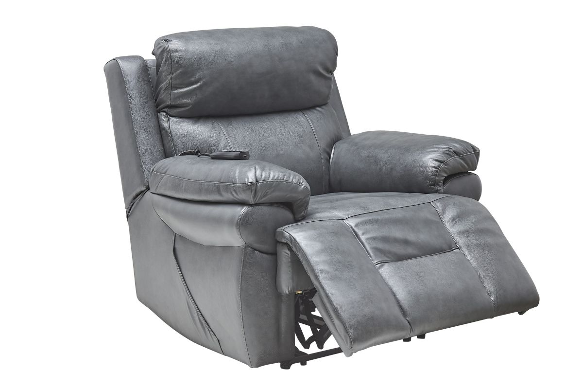Vega Leather Triple Power Recliner with Heat & Massage from Gardner-White Furniture