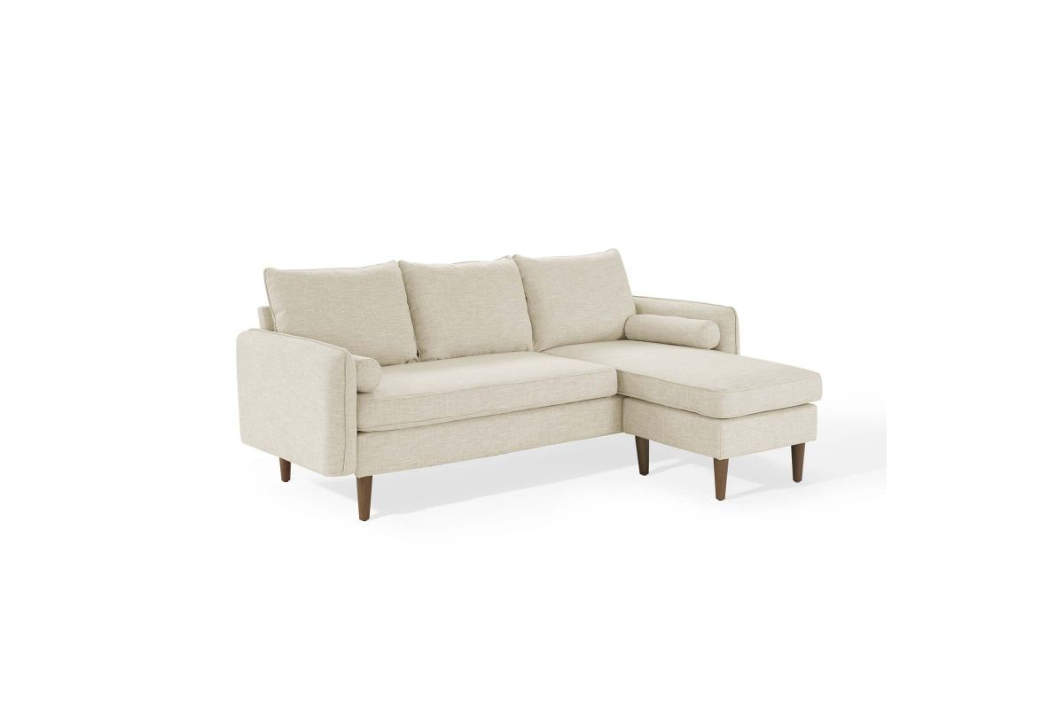 Revive Upholstered Reversible Chaise Sofa in Beige from Gardner-White Furniture