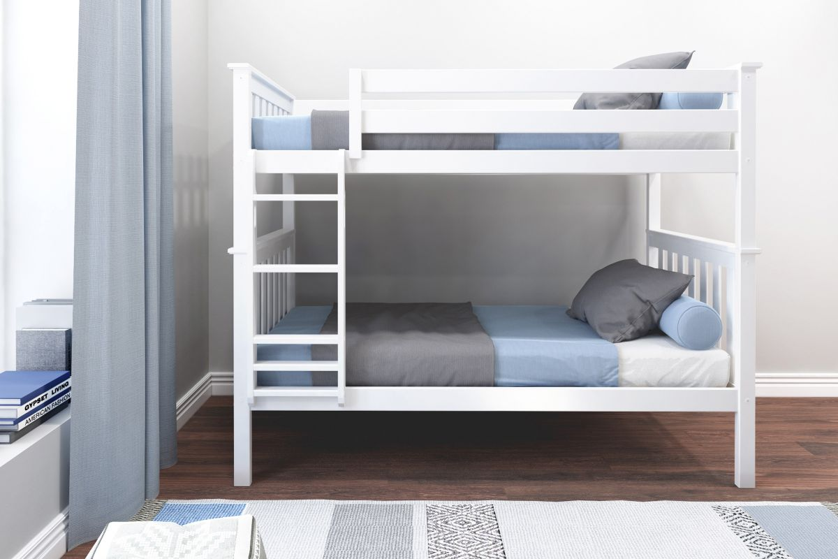 Charlie White Twin-Over-Twin Bunk Bed from Gardner-White Furniture