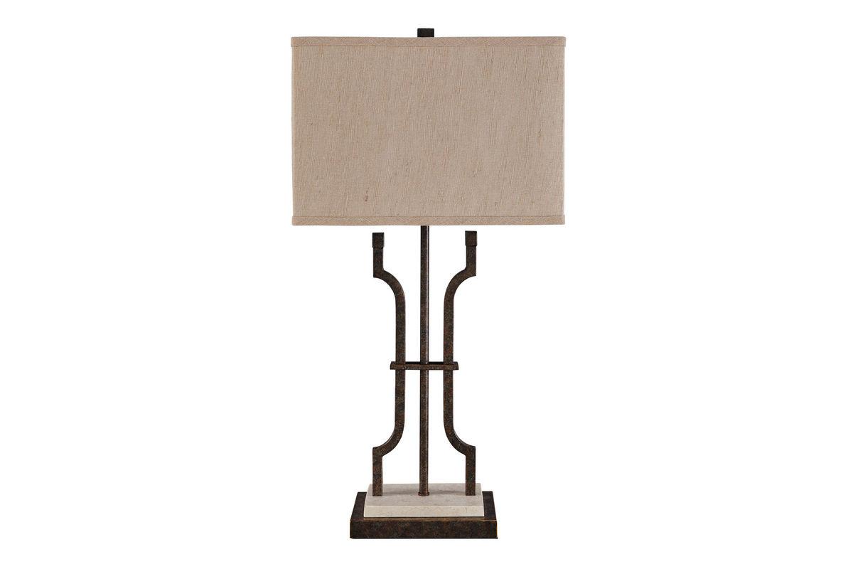 Malik Metal Table Lamp by Ashley from Gardner-White Furniture