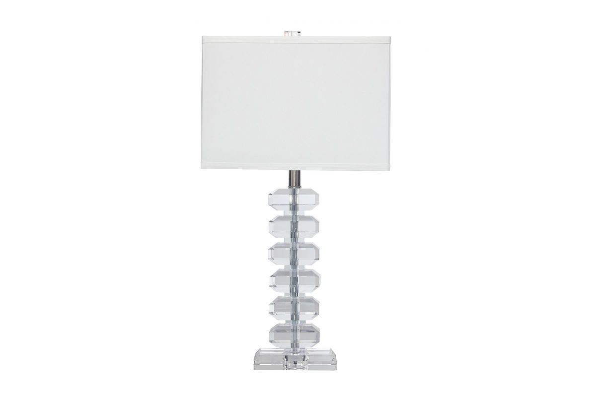 Janis Crystal Table Lamp by Ashley from Gardner-White Furniture